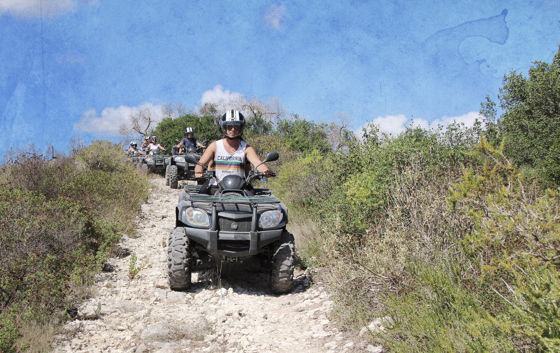 Discovery quad trip